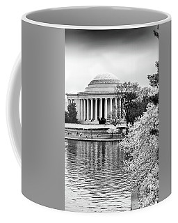Jefferson Memorial Cherry Blosum Time Coffee Mug