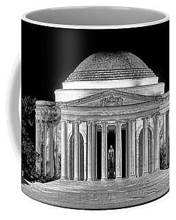 Jefferson Memorial Lonely Night Coffee Mug