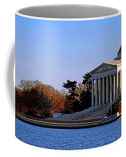 Jefferson Memorial Sunset Coffee Mug