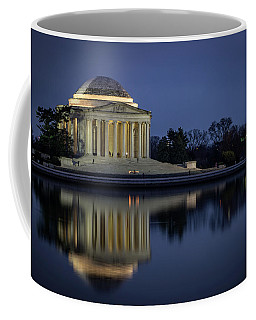 Jefferson Reflecting Coffee Mug