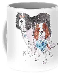 Jeffs Dogs Watercolor Kmcelwaine  Coffee Mug