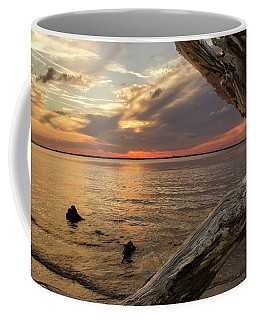 Jekyll Driftwood At Sunset Coffee Mug