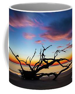 Jekyll Island Sunrise On Driftwood Beach Coffee Mug