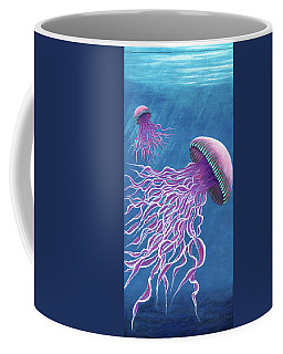 Jellies 1 Coffee Mug by Rebecca Parker