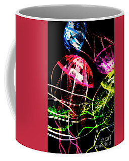 Jelly Fish Trails Coffee Mug