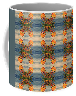 Jellyfish Pattern Coffee Mug