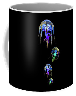Jellys In Space Coffee Mug