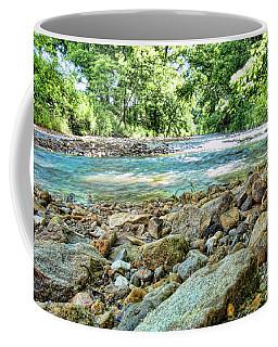 Coffee Mug featuring the photograph Jemerson Creek by Cricket Hackmann