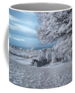 Jenne Farm - Reading, Vermont Coffee Mug by Joann Vitali