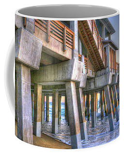 Jennette's Pier Coffee Mug by Scott and Dixie Wiley