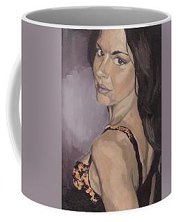 Jenny In Black Coffee Mug