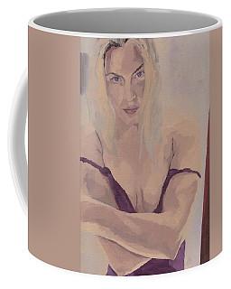 Jenny In Purple Coffee Mug