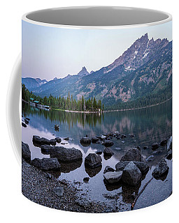Jenny Lake Dawn Coffee Mug