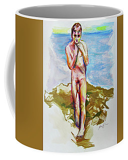 Jeremy At The Beach Coffee Mug