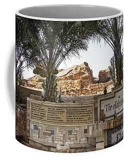 Coffee Mug featuring the photograph Jerico by Mae Wertz