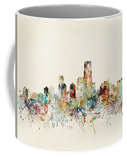 Jersey City New Jersey Skyline Coffee Mug