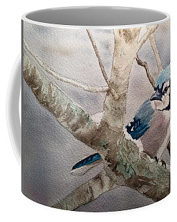 Cold Winter's Jay Coffee Mug