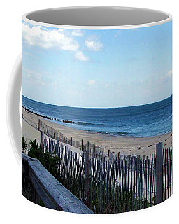Jersey Shore Coffee Mug by Judi Saunders
