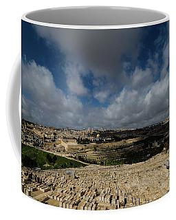 Jerusalem From Mount Of Olives Coffee Mug