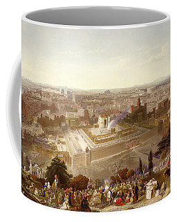 Jerusalem In Her Grandeur Coffee Mug