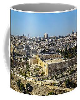 Jerusalem Of Gold Coffee Mug