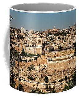 Coffee Mug featuring the photograph Jerusalem by Mae Wertz