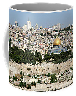 Jerusalem Skyline Coffee Mug