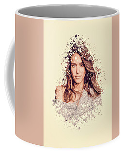 Jessica Alba Coffee Mugs