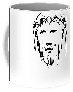 Jesus Christ Head Coffee Mug