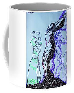 Jesus Crucifixion Coffee Mug by Gloria Ssali