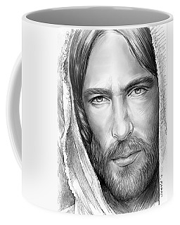 Jesus Face Coffee Mug