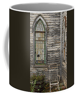 Jesus Has Left The Building Coffee Mug