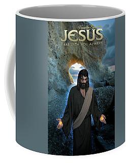 Jesus- I Am With You Always Coffee Mug