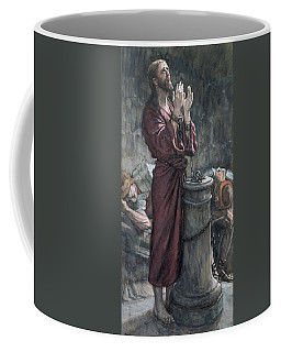 Jesus In Prison Coffee Mug