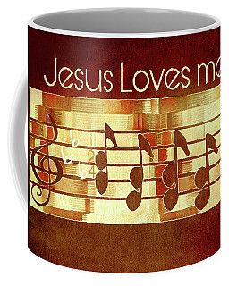Jesus Loves Me Coffee Mug