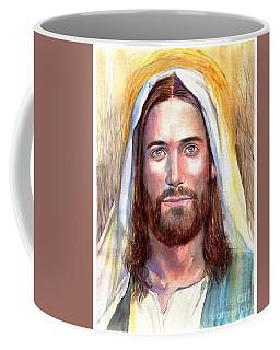 Jesus Of Nazareth Painting Coffee Mug