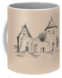 Jesus On Cross Liverpool Coffee Mug