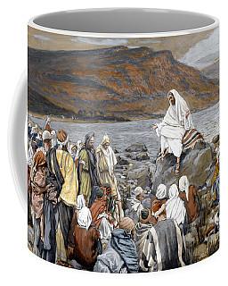 Jesus Preaching Coffee Mug
