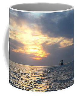 Coffee Mug featuring the photograph Watching Over The Inlet by LeeAnn Kendall