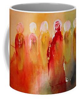 Jesus With His Apostles Coffee Mug