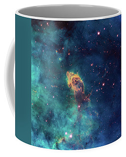 Coffee Mug featuring the photograph Jet In Carina by Marco Oliveira