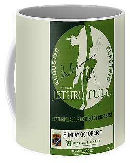Jethro Tull Signed Poster Coffee Mug
