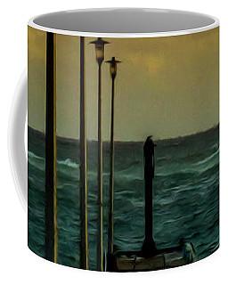Jetty At Sunrise Coffee Mug
