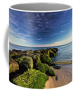 Jetty Four Mossy Rocks Coffee Mug