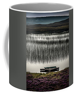 Jetty, Loch Na Maracha, Isle Of Harris Coffee Mug
