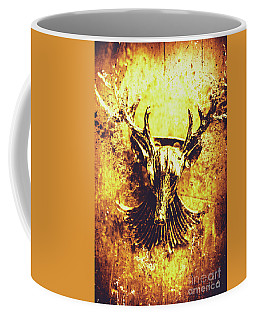 Jewel Deer Head Art Coffee Mug