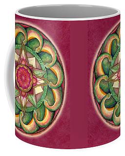 Jewel Of The Heart Mandala Coffee Mug