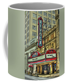 Jewel Of The South Tivoli Chattanooga Historic Theater Art Coffee Mug