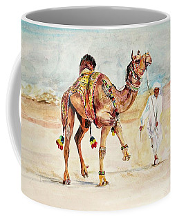 Jewellery And Trappings On Camel. Coffee Mug by Khalid Saeed