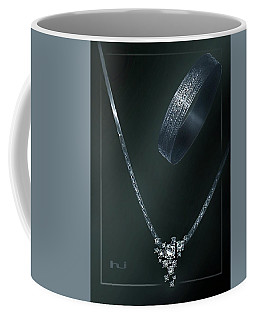 Jewellery  Design Painting  Coffee Mug by Hartmut Jager